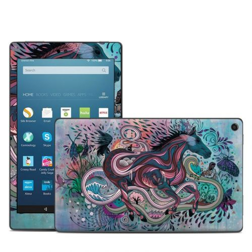Poetry in Motion Amazon Fire HD 8 2018 Skin