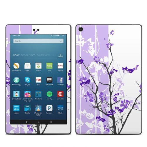 Violet Tranquility Amazon Fire HD 8 2018 Skin