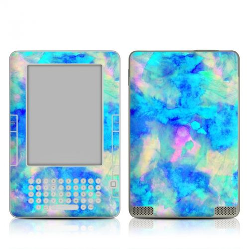 Electrify Ice Blue Amazon Kindle 2 Skin