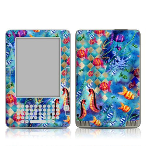 Harlequin Seascape Amazon Kindle 2 Skin