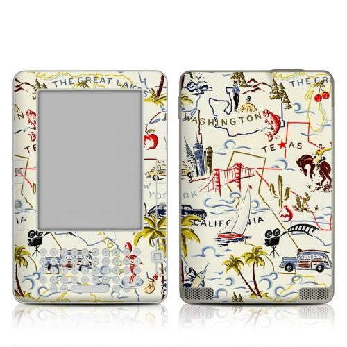 Road Trip Amazon Kindle 2 Skin