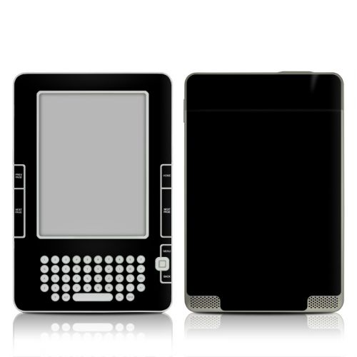 Solid State Black Amazon Kindle 2 Skin