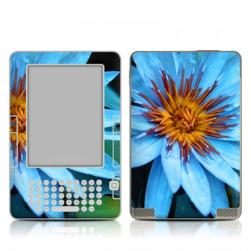Sweet Blue Amazon Kindle 2 Skin