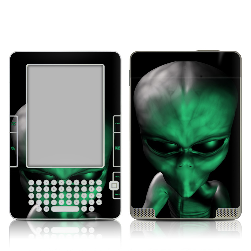 Abduction Amazon Kindle 2 Skin