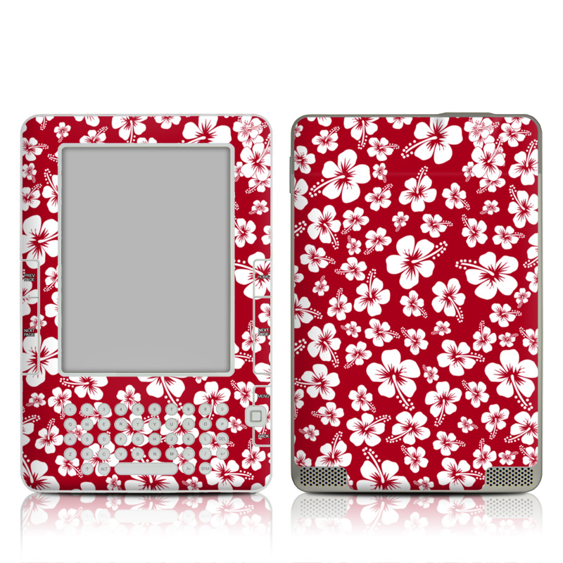 Aloha Red Amazon Kindle 2 Skin