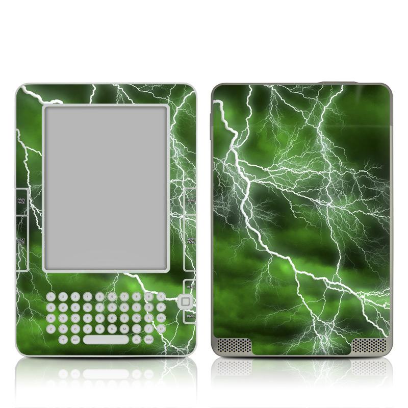 Apocalypse Green Amazon Kindle 2 Skin