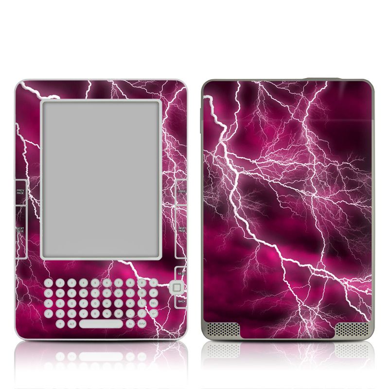 Apocalypse Pink Amazon Kindle 2 Skin