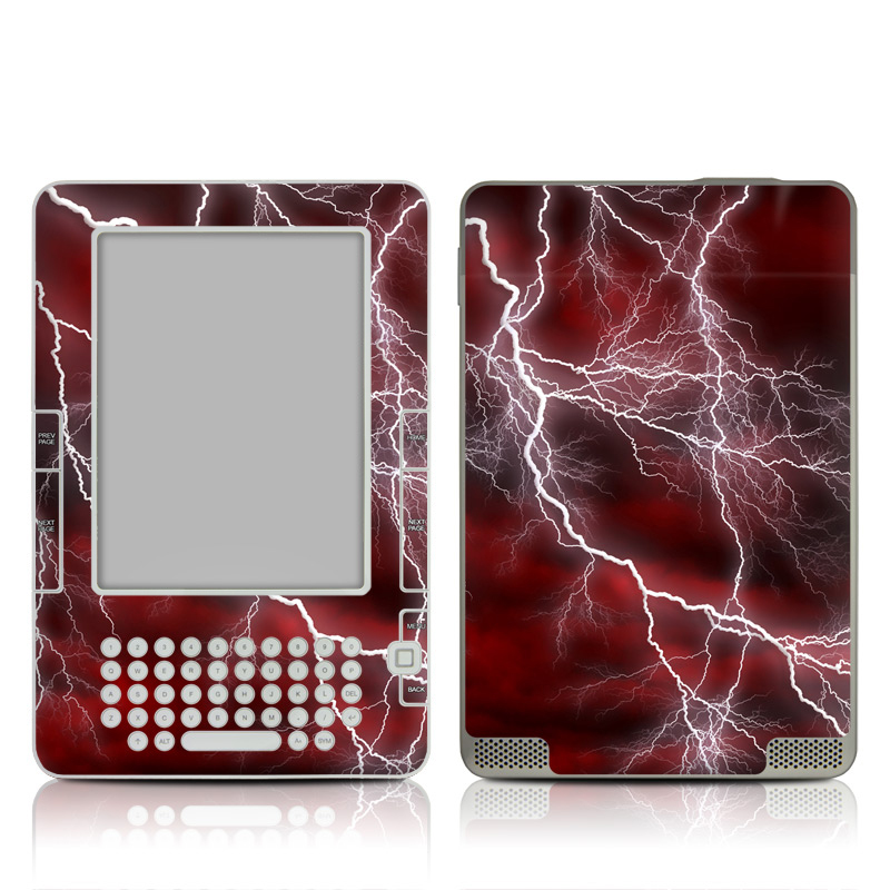 Apocalypse Red Amazon Kindle 2 Skin