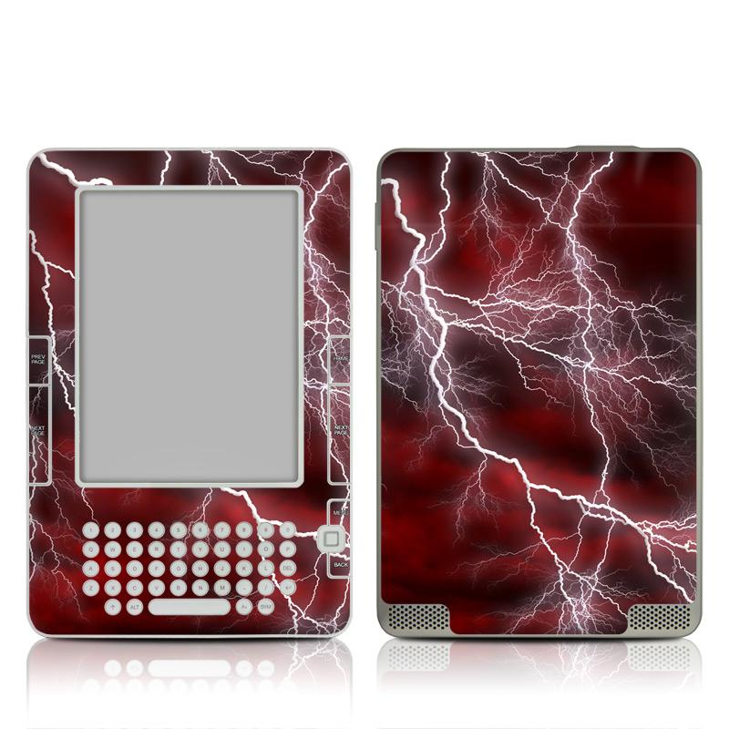 Apocalypse Red Amazon Kindle 2 Skin