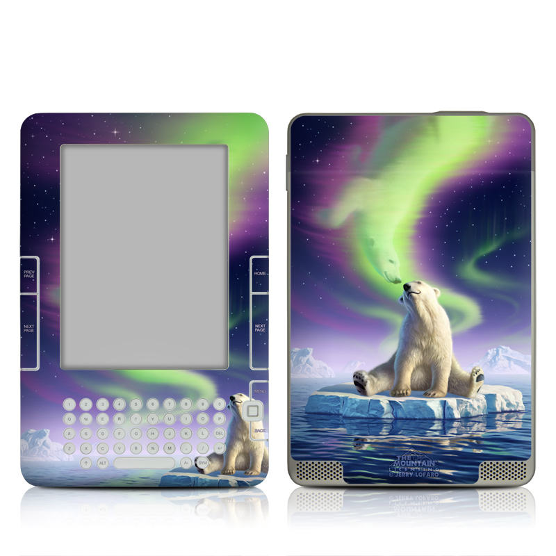 Arctic Kiss Amazon Kindle 2 Skin