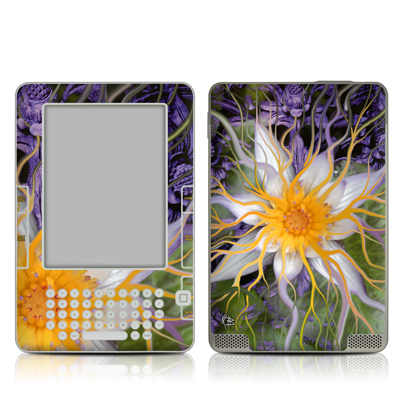 Bali Dream Flower Amazon Kindle 2 Skin