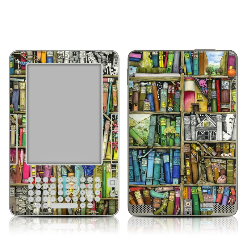Bookshelf Amazon Kindle 2 Skin