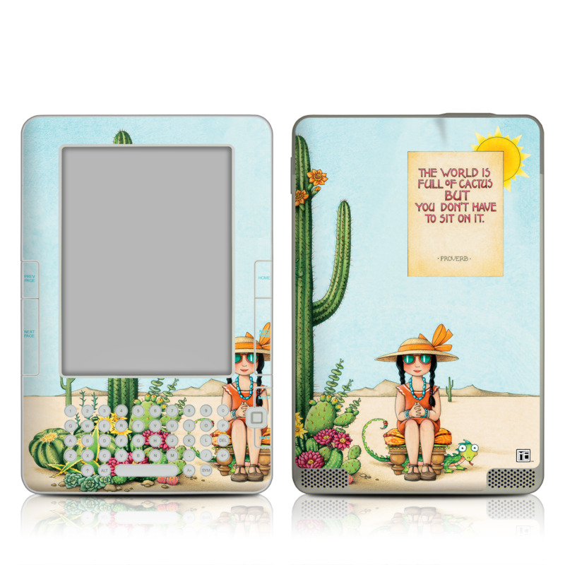 Cactus Amazon Kindle 2 Skin