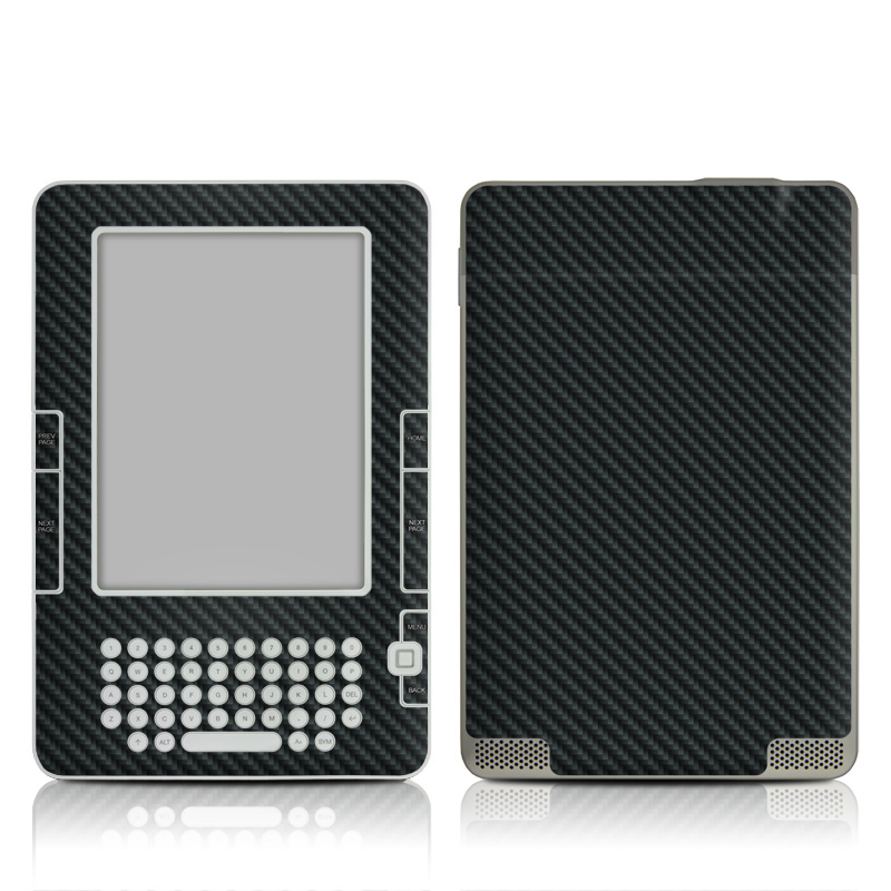 Carbon Amazon Kindle 2 Skin