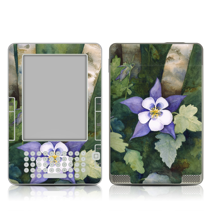 Colorado Columbines Amazon Kindle 2 Skin