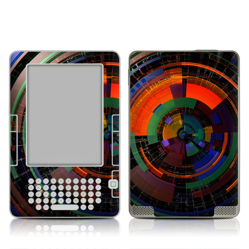 Color Wheel Amazon Kindle 2 Skin
