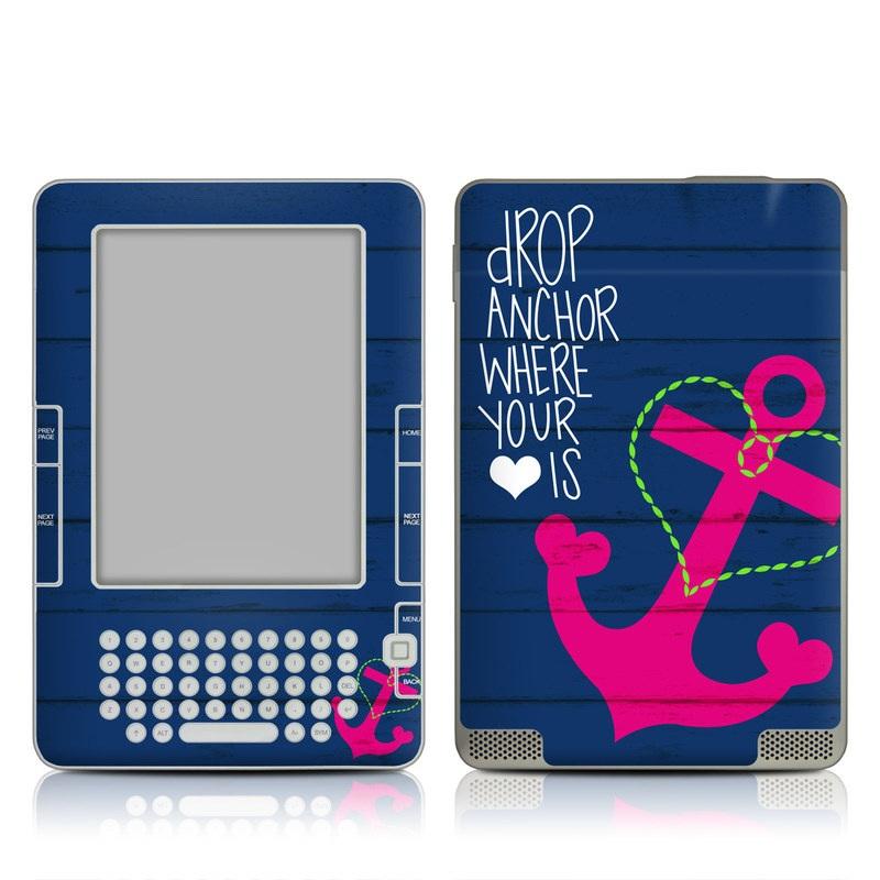 Drop Anchor Amazon Kindle 2 Skin