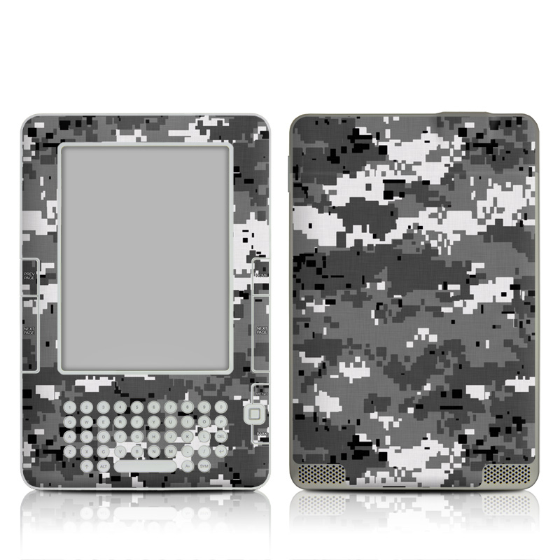 Digital Urban Camo Amazon Kindle 2 Skin