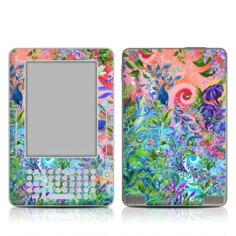 Fantasy Garden Amazon Kindle 2 Skin