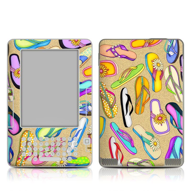 Flip Flops Amazon Kindle 2 Skin