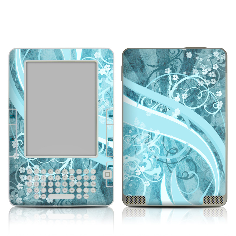 Flores Agua Amazon Kindle 2 Skin