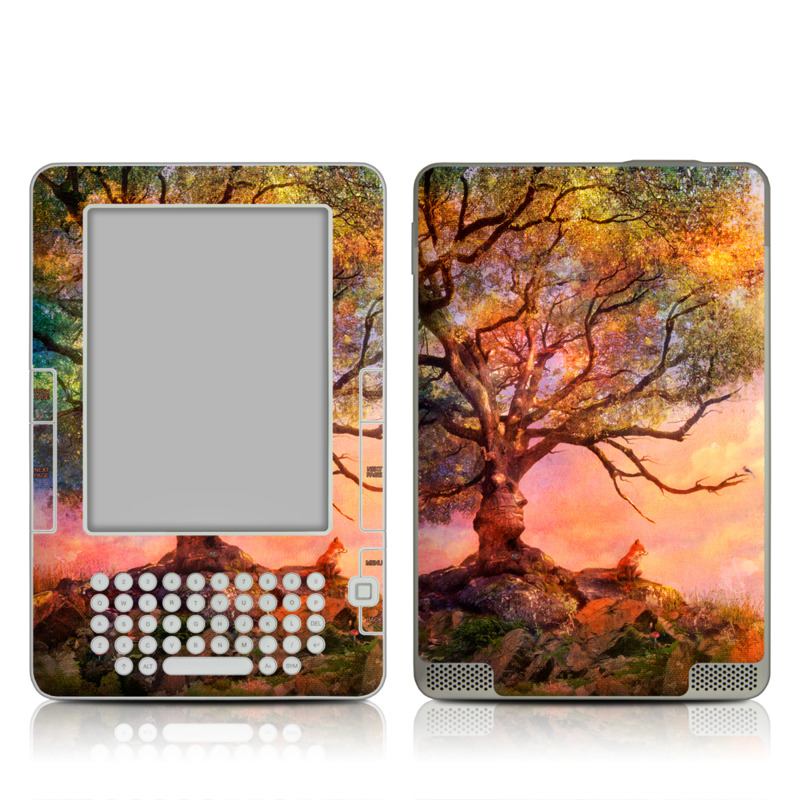 Fox Sunset Amazon Kindle 2 Skin