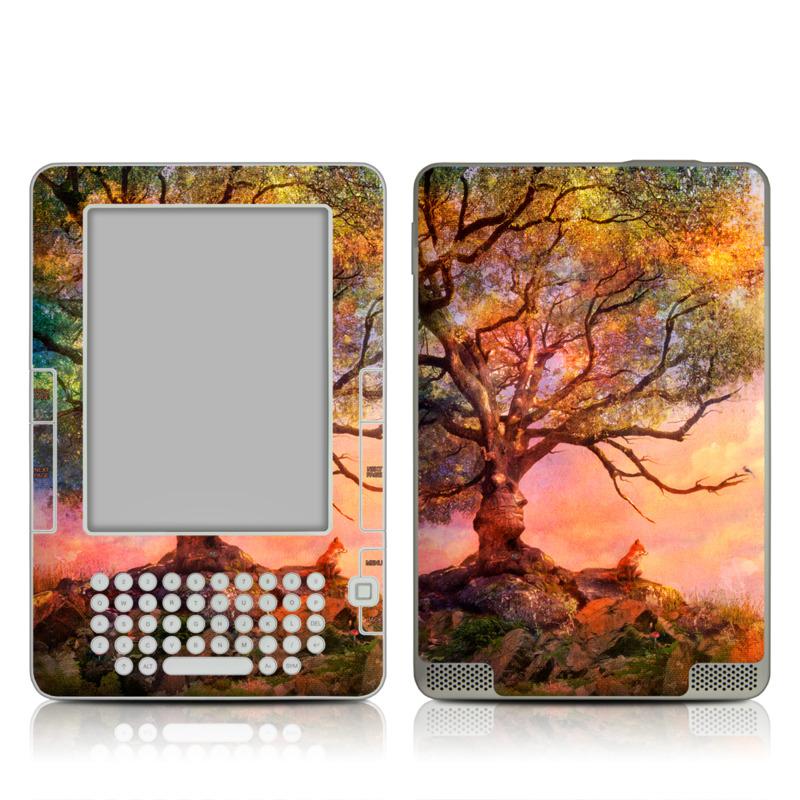 Fox Sunset Amazon Kindle 2 Skin