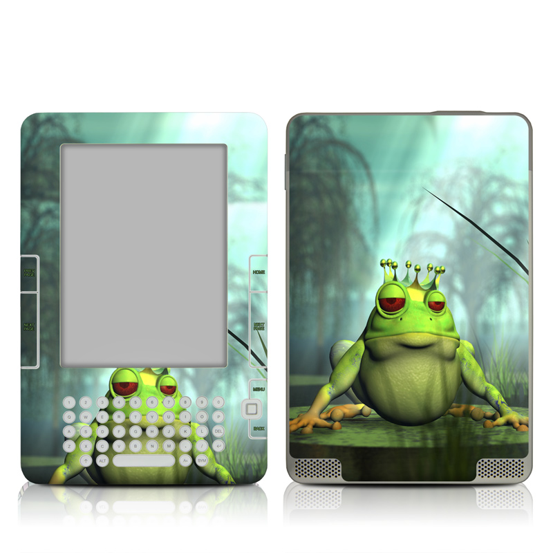 Frog Prince Amazon Kindle 2 Skin