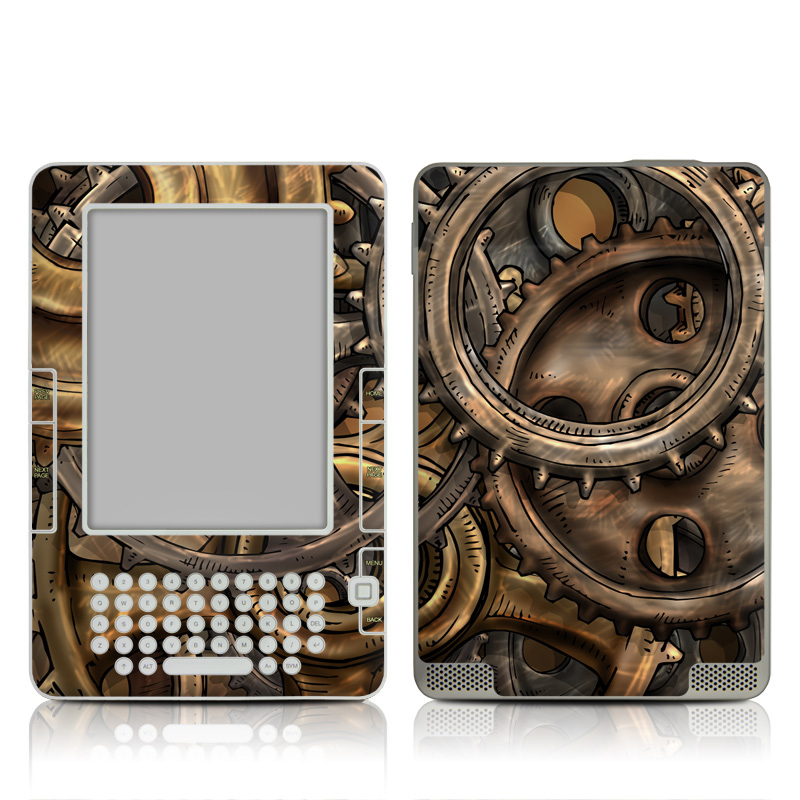 Gears Amazon Kindle 2 Skin