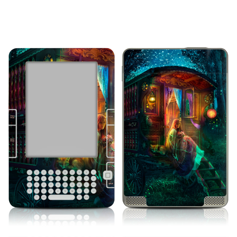 Gypsy Firefly Amazon Kindle 2 Skin