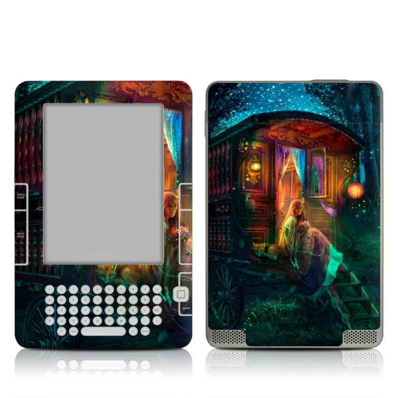 Gypsy Firefly Amazon Kindle 2 Skin