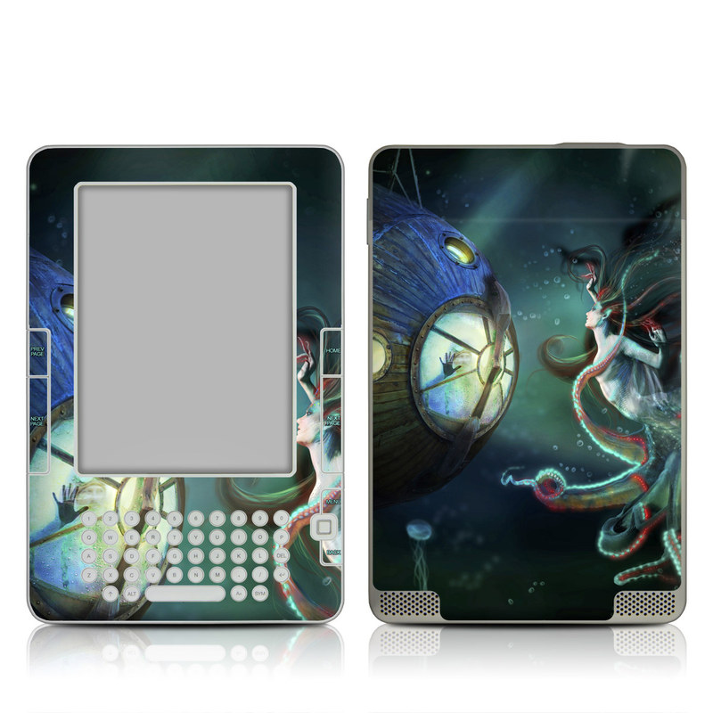 20000 Leagues Amazon Kindle 2 Skin