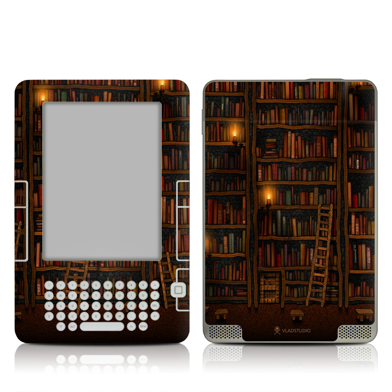 Library Amazon Kindle 2 Skin