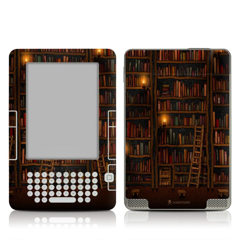 Library Amazon Kindle 2 Skin