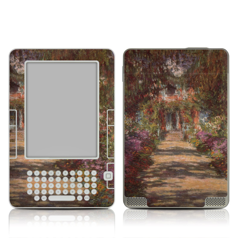 Garden at Giverny Amazon Kindle 2 Skin