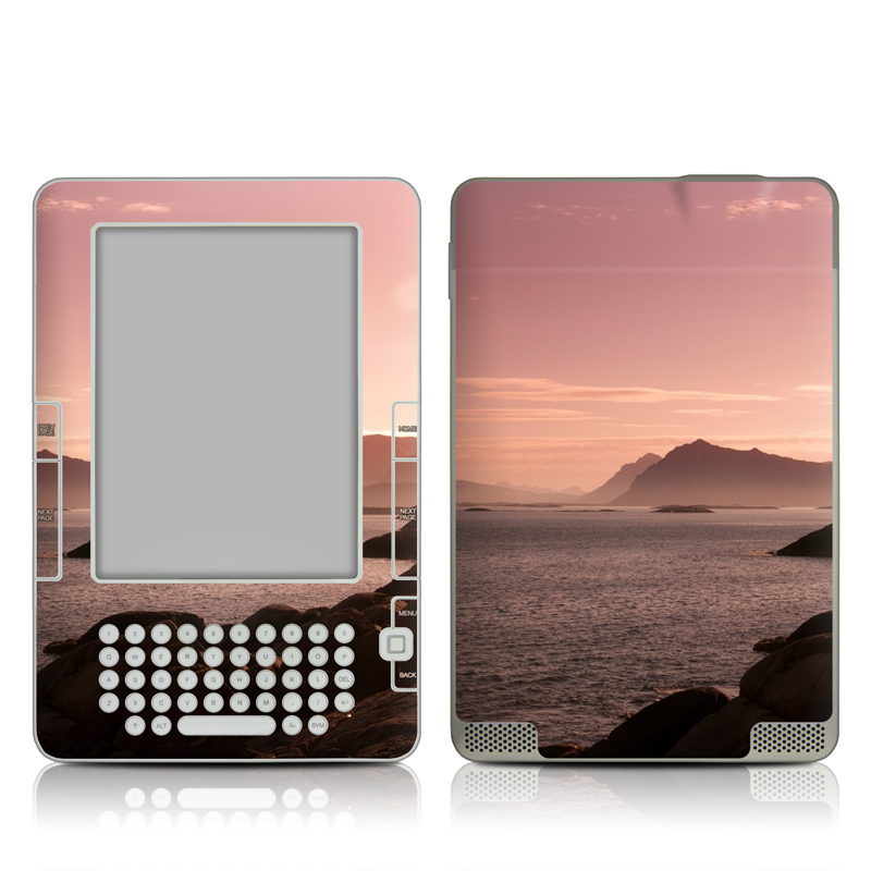Pink Sea Amazon Kindle 2 Skin
