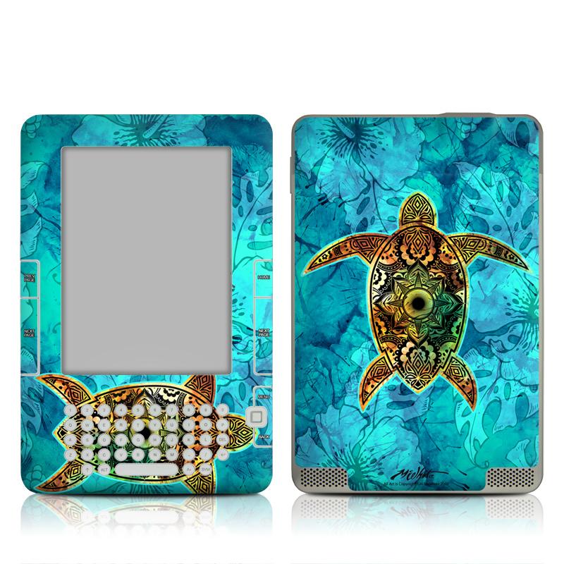 Sacred Honu Amazon Kindle 2 Skin