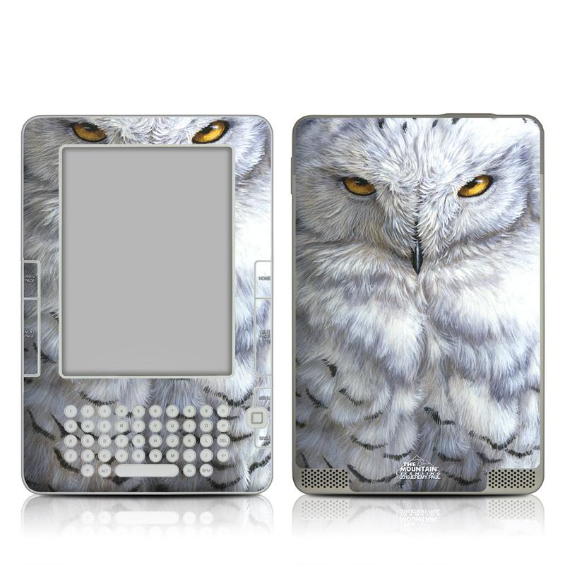 Snowy Owl Amazon Kindle 2 Skin