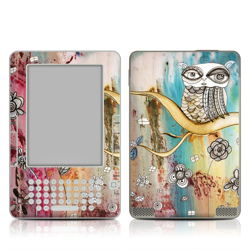 Surreal Owl Amazon Kindle 2 Skin