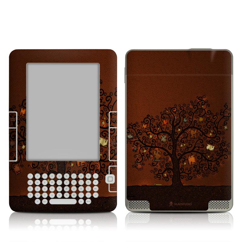 Tree Of Books Amazon Kindle 2 Skin