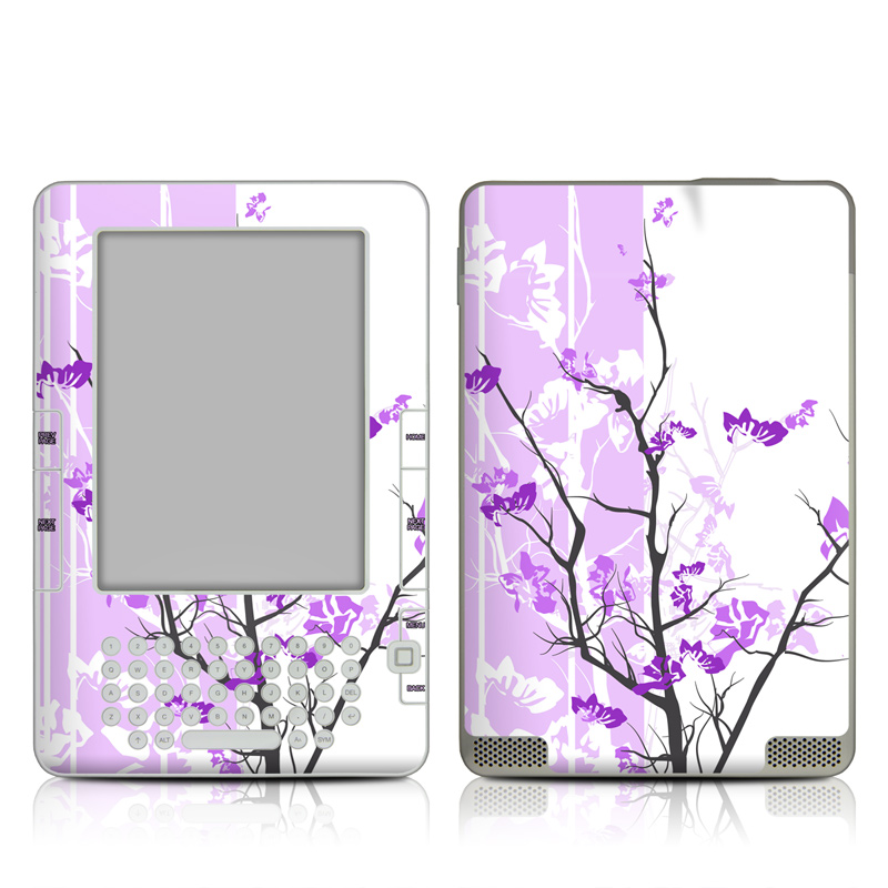 Violet Tranquility Amazon Kindle 2 Skin