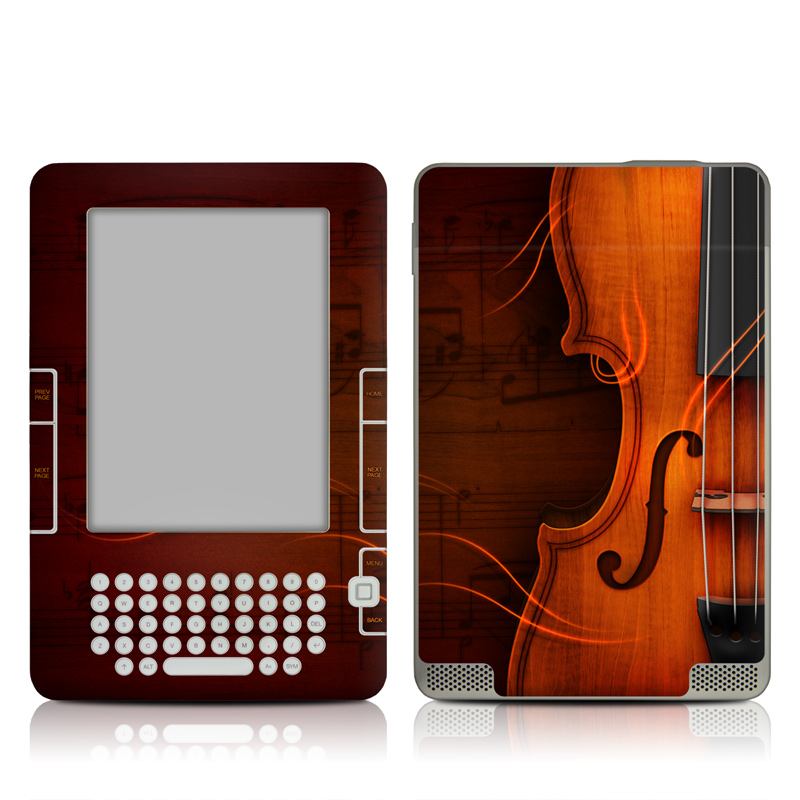 Violin Amazon Kindle 2 Skin
