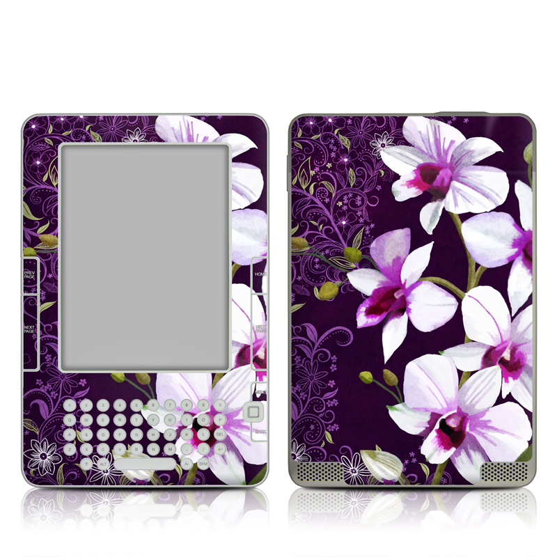 Violet Worlds Amazon Kindle 2 Skin