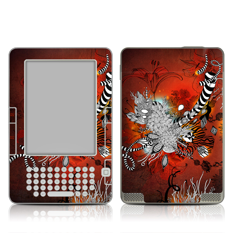 Wild Lilly Amazon Kindle 2 Skin