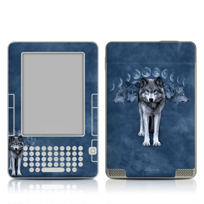 Wolf Cycle Amazon Kindle 2 Skin