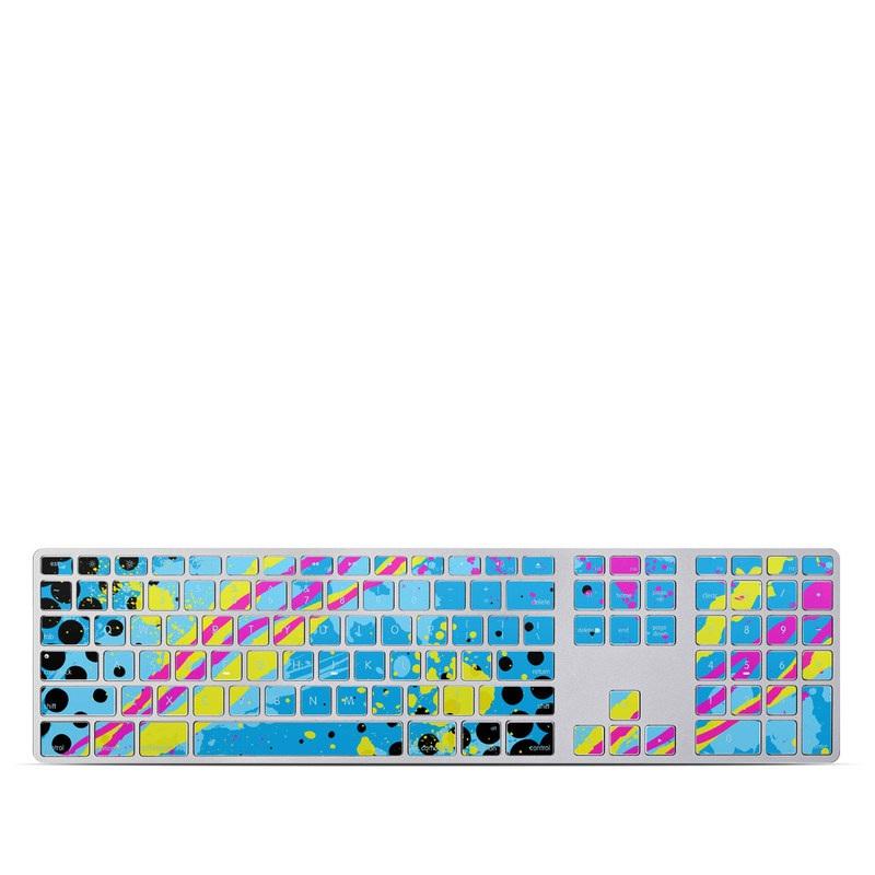 Acid Apple Keyboard with Numeric Keypad Skin