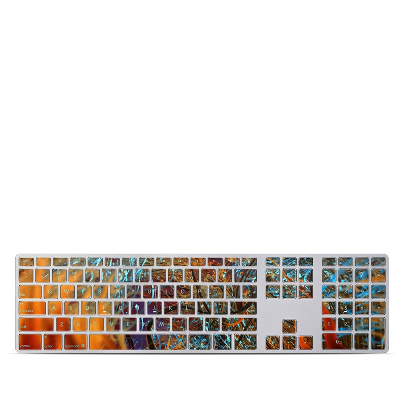 Axonal Apple Keyboard with Numeric Keypad Skin