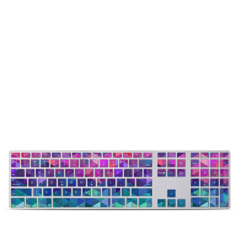 Charmed Apple Keyboard with Numeric Keypad Skin