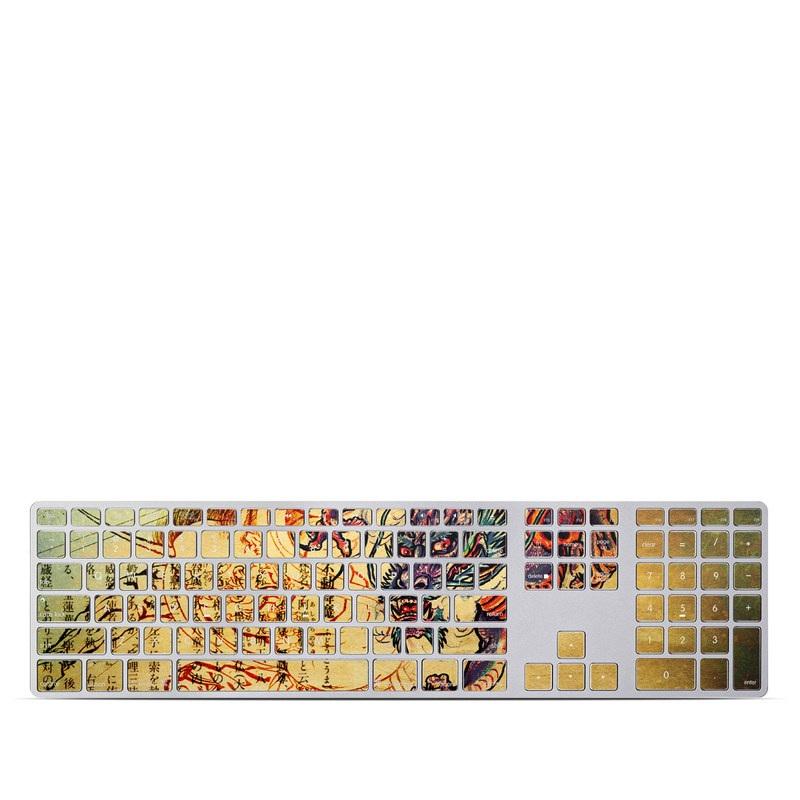 Dragon Legend Apple Keyboard with Numeric Keypad Skin