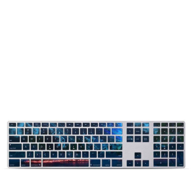 Thetis Nightfall Apple Keyboard with Numeric Keypad Skin